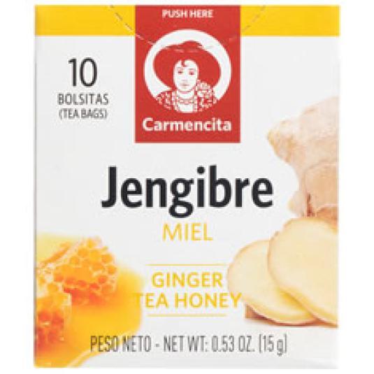 INFUSION JENGIBRE CON MIEL 10UD