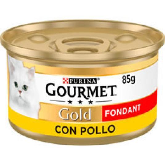 COMIDA GATO POLLO FOUNDANT G. GOLD 85GR