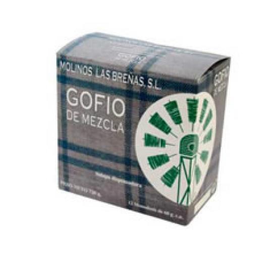 GOFIO MEZCLA MONODOSIS 12X60GR