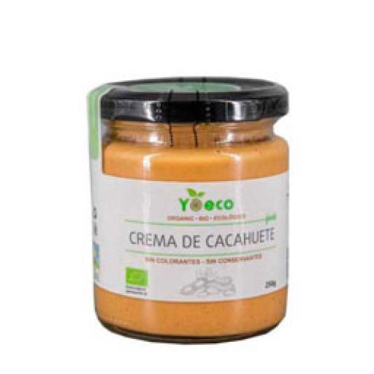 CREMA DE CACAHUETE ECOLOGIO 250GR