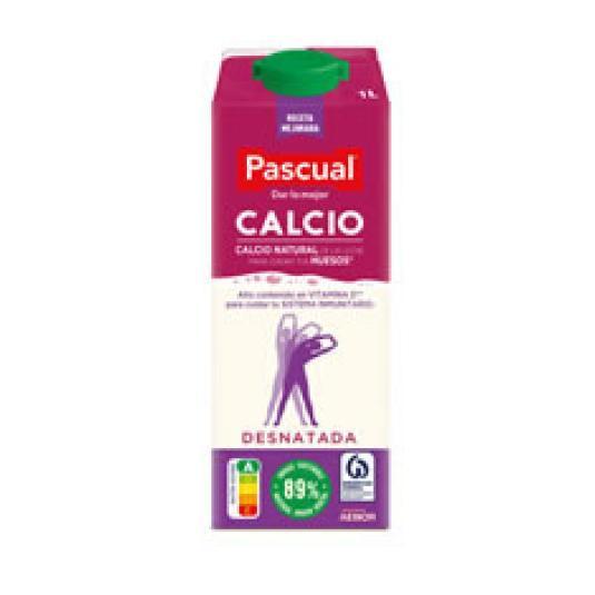 LECHE DESNATADA SIN LACTOSA CALCIO 1L