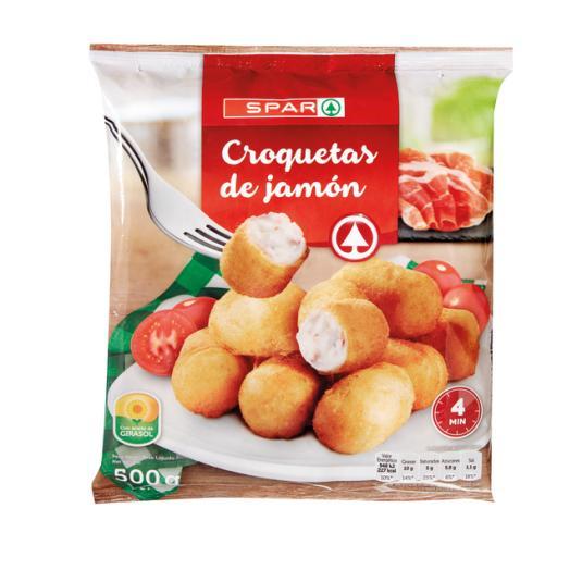 CROQUETA ARTESANA JAMON 500G