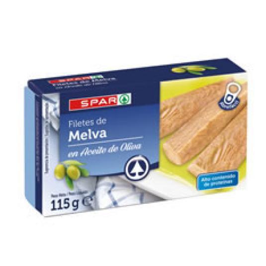 FILETE DE MELVA ACEITE OLIVA 115GR