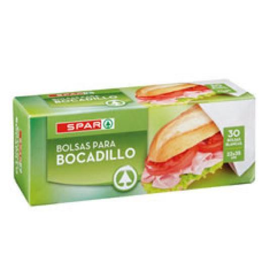 BOLSAS BOCADILLO 30UD