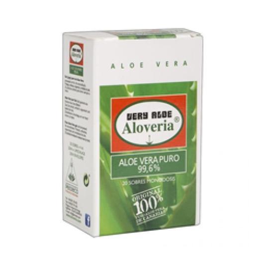 GEL PURO ALOE MONODOSIS 20X4ML
