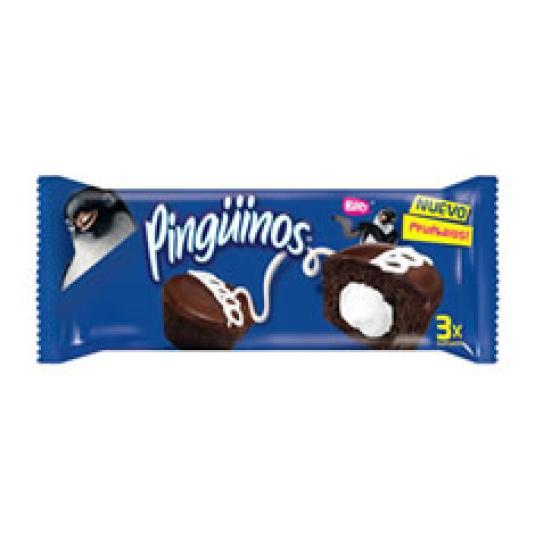 CUPCAKES DE CHOCOLATE RELLENOS 3UD 90GR