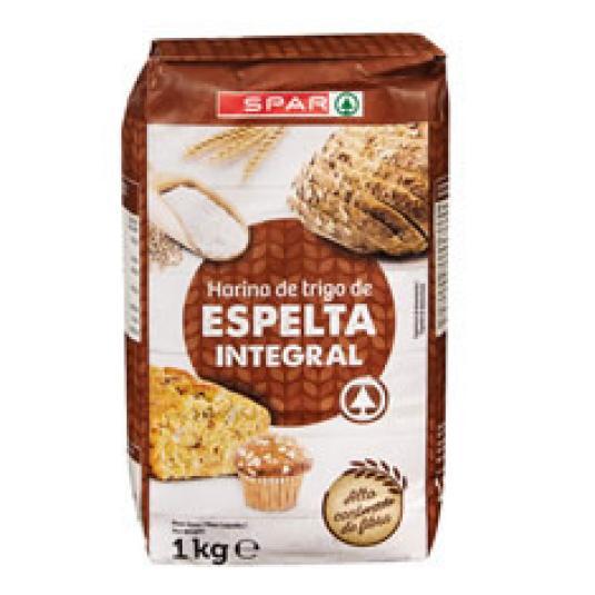 HARINA DE ESPELTA INTEGRAL 1KG