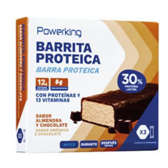 BARRITA PROTEICA CHOCO/ALMENDRA 3X40GR