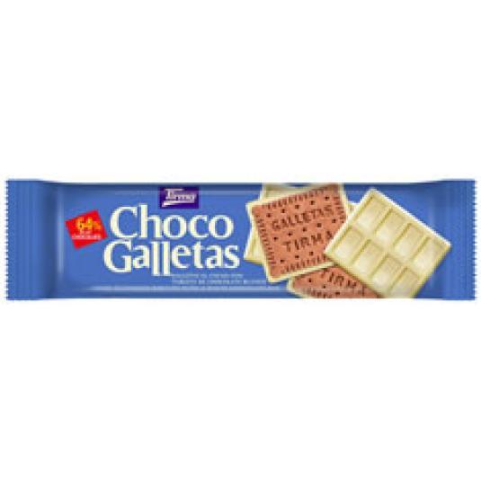CHOCO GALLETAS BLANCO 160GR