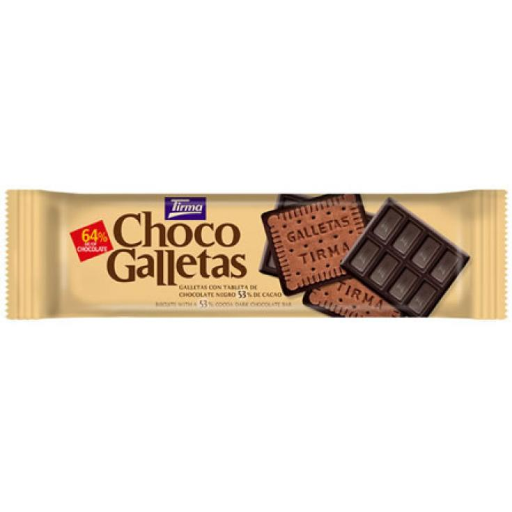 CHOCO GALLETAS NEGRO 160GR