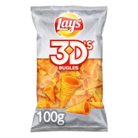 CONOS 3D'S QUESO Y BACON 100GR