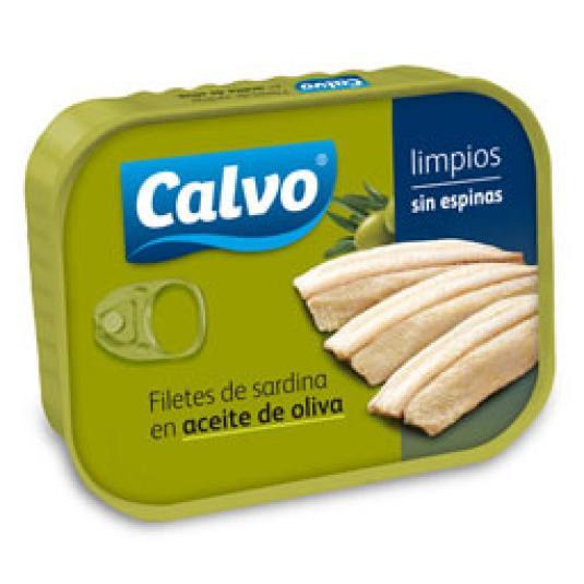 FILETE SARDINA AC. OLIVA S/ESPINAS 100GR