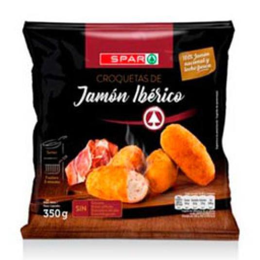 CROQUETAS DE JAMON IBERICO 350GR