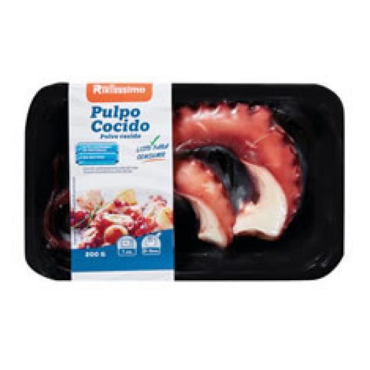 PULPO COCIDO REFRIGERADO 2 PATAS 200GR