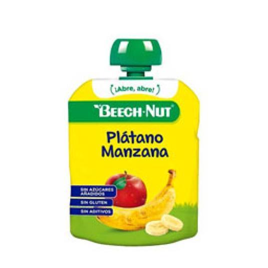 POUCH PLATANO/MANZANA 90GR.