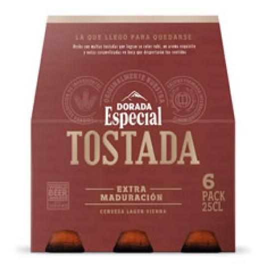 CERVEZA ESPECIAL ROJA 6X25CL