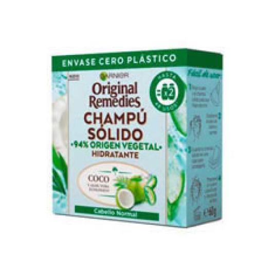 CHAMPU SOLIDO COCO 60GR