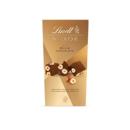 CHOCOLATE NUX.ILK HAZELNUTS LINDT 165GR