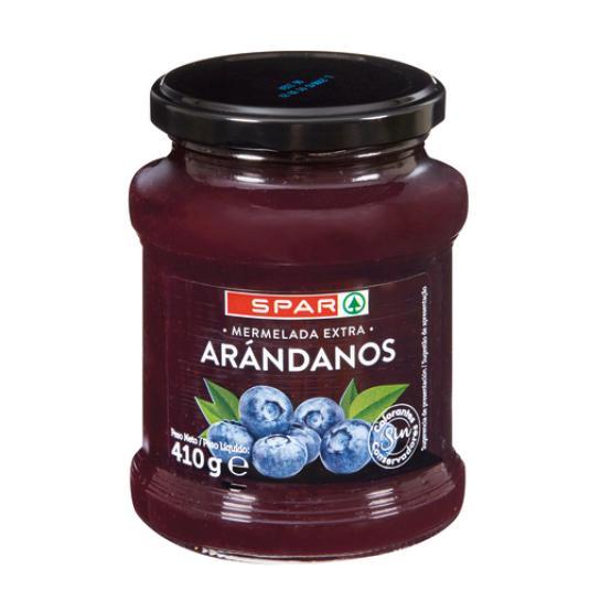 MERMELADA ARANDANOS 410GR.