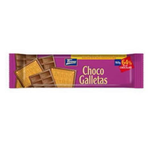 CHOCO GALLETAS LECHE 160GR
