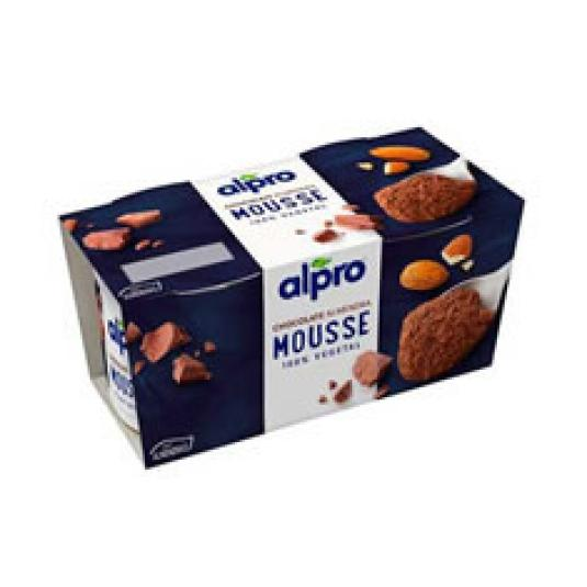 ALPRO MOUSSE CHOCO ALMENDRA 70GX2