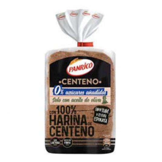 PAN MOLDE 100% CENTENO 400GR