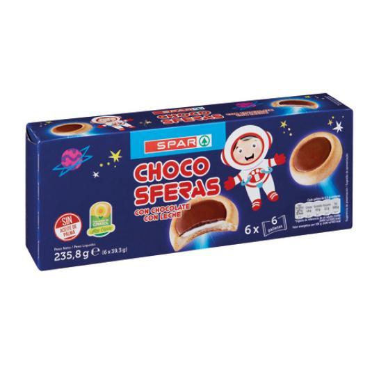 GALLETA RECUBIERTA CHOCOLA. R/LECHE 230G