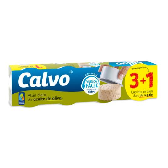ATUN CLARO ACEITE OLIVA PACK3+1