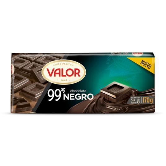 CHOCOLATE NEGRO 99% 170GR