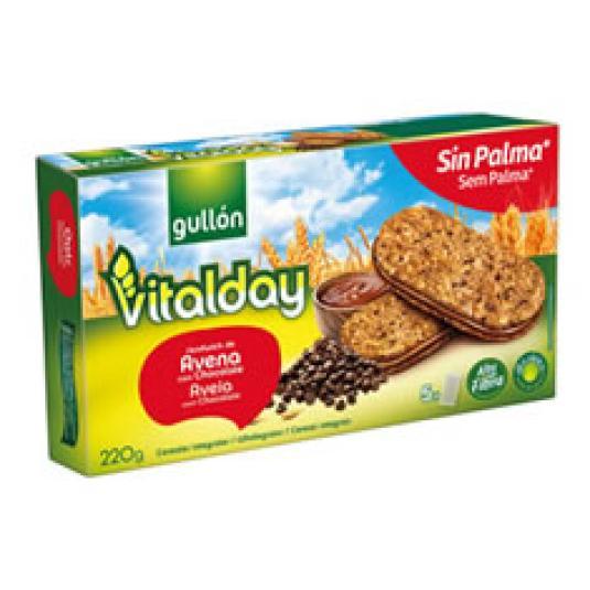 VITALDAY SANDWICH DOBLE CACAO 200G