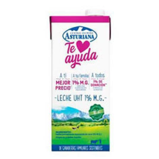 I&O-LECHE TE AYUDA 1% MG 1L