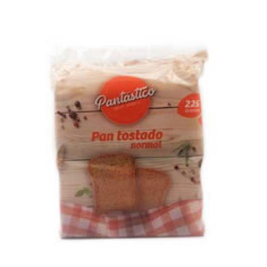 PAN TOSTADO NATURAL 225GR