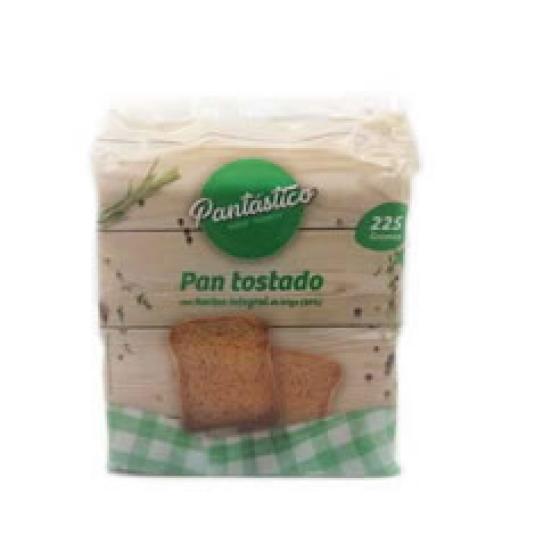 PAN TOSTADO INTEGRAL 225GR