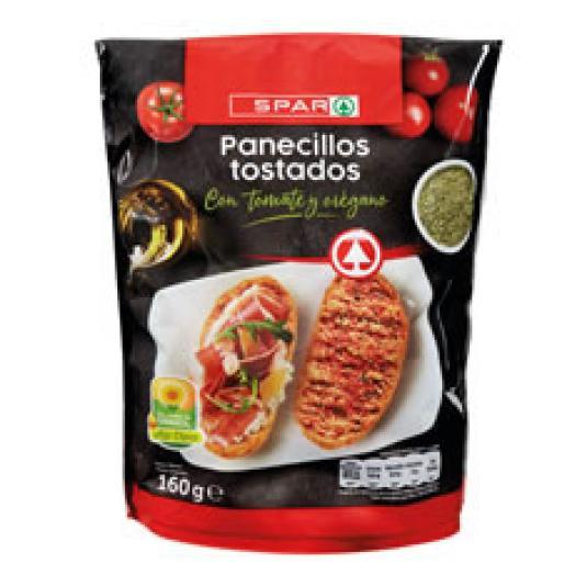 PANECILLOS TOSTADOS CON TOMATE 160GR