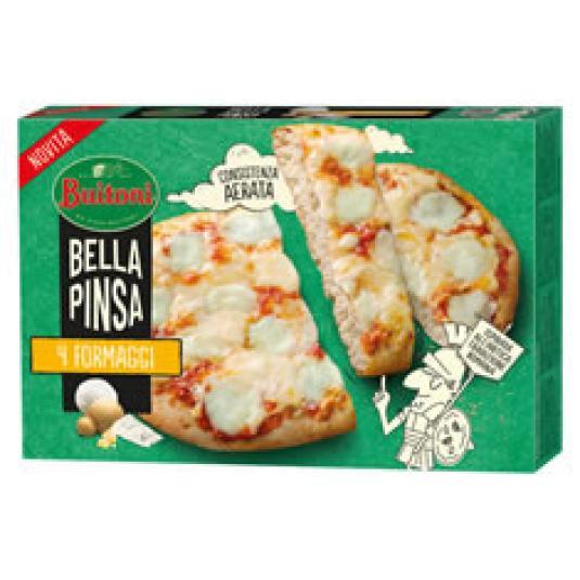 PIZZA BELLA PINSA 4 QUESOS 360GR
