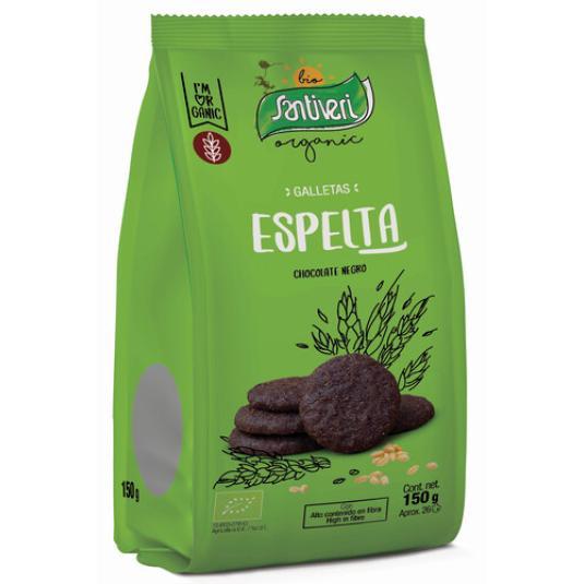 GALLETA ESPELTA CHOCOLATE BIO 150GR