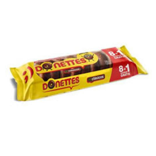 DONETTES CLASICOS 8+1UD 171GR