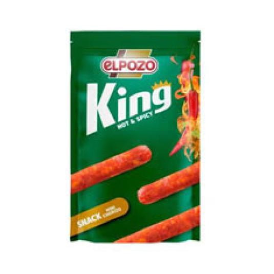 MINI CHORIZO HOT SPICY SNACK KING 50GR
