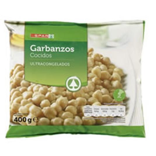 GARBANZOS CONGELADOS 400GR