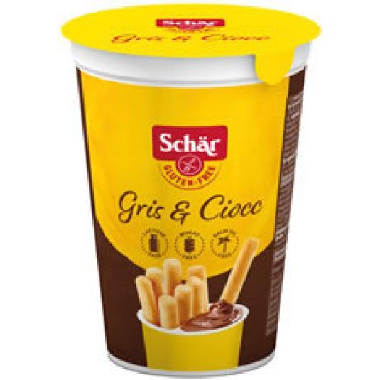 VASITO MILLY GRIS&CIOCC SIN GLUTEN 52GR