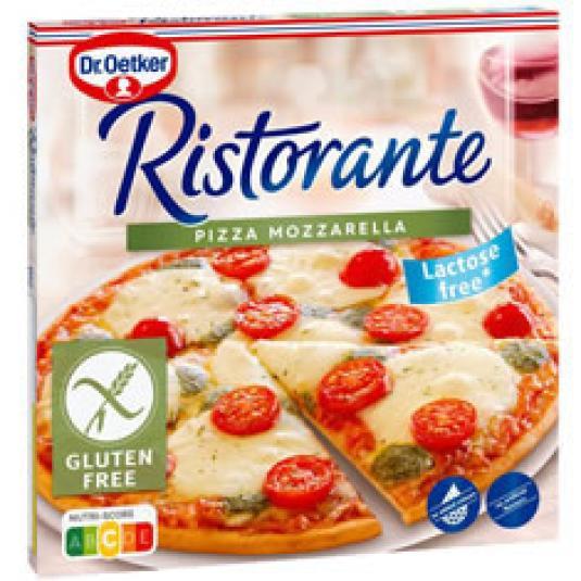 PIZZA RISTORANT MOZZARELLA S/GLUTEN 370G