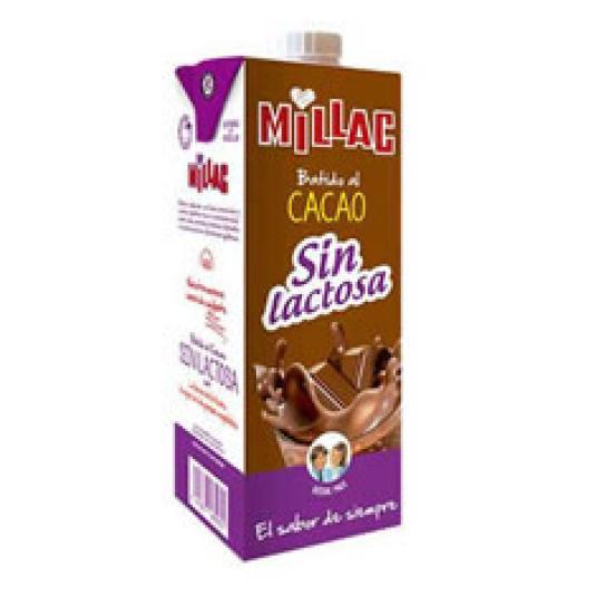 BATIDO AL CACAO SIN LACTOSA 1L