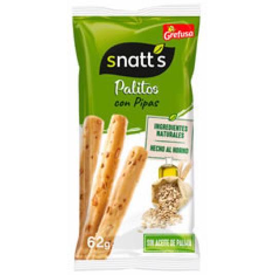 SNATT'S PALITOS PIPAS 62GR