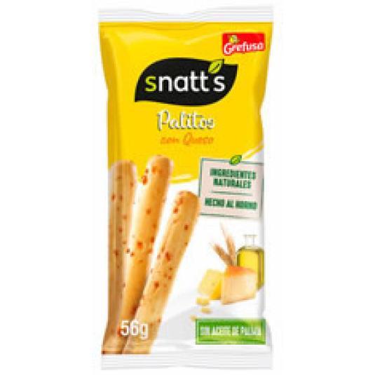 SNATT'S PALITOS QUESO 56GR