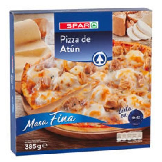 PIZZA CONGELADA ATUN Y CEBOLLA 350GR